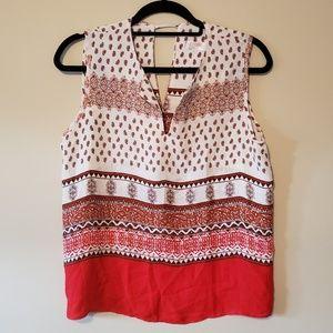 Renee C paisley print pullover